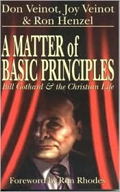 A Matter of Basic Principles: Bill Gothard and the Christian Life