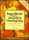 Ingredients for a Heartfelt Thanksgiving