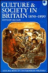 Culture and Society in Britain 1850-1890 by John M. Golby