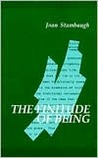 Finitude of Being