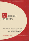 Modern Poetry: English Masterpieces, Volume 7