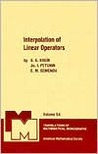 Interpolation Of Linear Operators