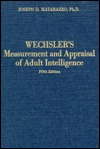 Wechsler's Measurement and Appraisal of Adult Intelligence
