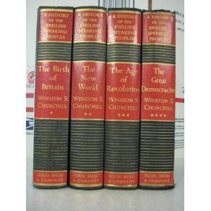 A History of the English Speaking Peoples, 4 Vols by Winston S. Churchill
