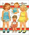The Six Little Steppers: Paper Dolls, Clothes & Toys