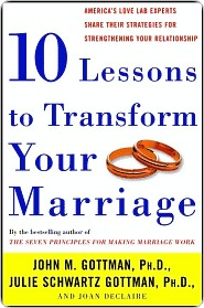 Ten Lessons to Transform Your Marriage by John M. Gottman