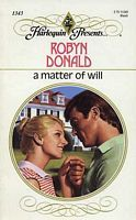 A Matter of Will by Robyn Donald