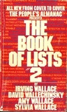 The People's Almanac Presents The Book of Lists #2 by Irving Wallace
