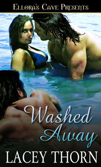 Washed away by Lacey Thorn