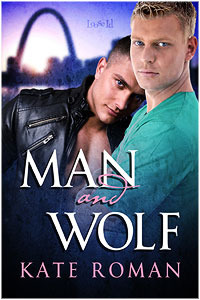 Man and Wolf by Kate Roman