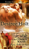 Trouble in Cowboy Boots (Sequins, Saddles and Spurs, #1)