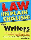 The Law (in Plain English) for Writers