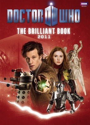 The Brilliant Book of Doctor Who 2011 by Clayton Hickman
