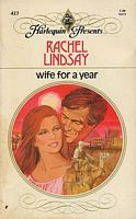 Wife for a year. by Rachel Lindsay