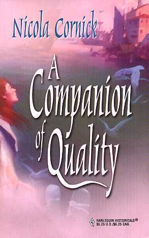 A Companion of Quality (The Steepwood Scandal, #4)
