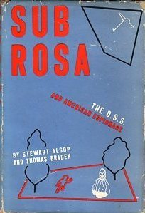 Sub Rosa : The O.S.S. and American Espionage
