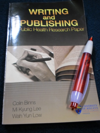 Writing and Publishing by Colin Binns