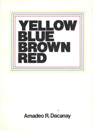Yellow Blue Brown Red by Amadeo R. Dacanay
