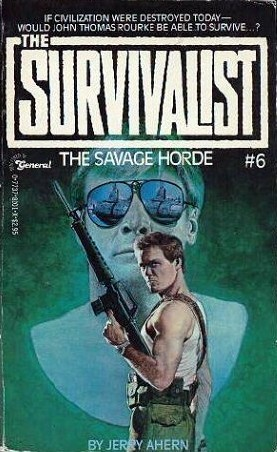The Savage Horde by Jerry Ahern
