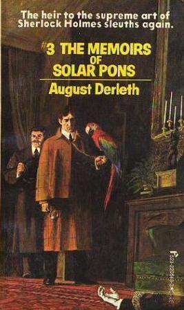 The Memoirs of Solar Pons by August Derleth