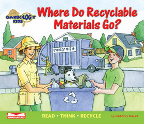 Where Do Recyclable Materials Go?: Read Think Recycle