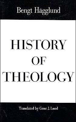 History of Theology by Bengt Hägglund