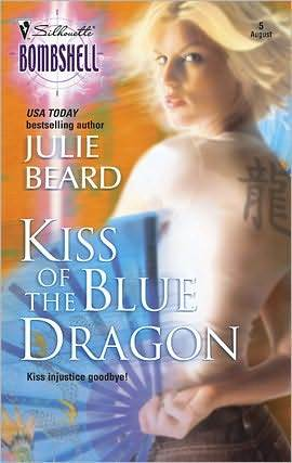 Kiss of the Blue Dragon (Angel Baker #1)