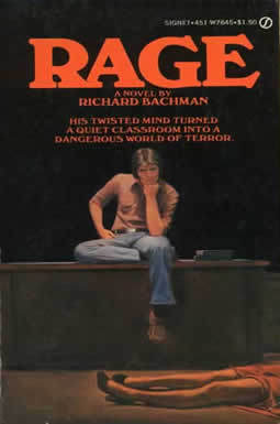 Rage by Richard Bachman