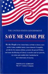 United States Government SAVE ME SOME PIE