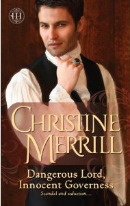 Dangerous Lord, Innocent Governess by Christine Merrill