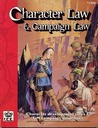 Character Law and Campaign Law (Rolemaster 2nd Edition, #1300)