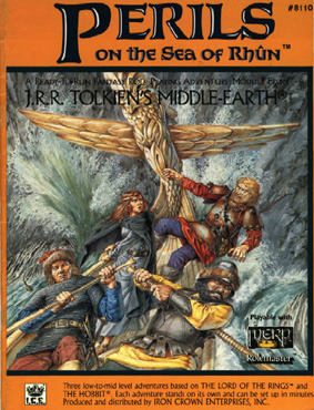 Perils Of The Sea Of Rhun (Middle Earth Role Playing/Merp #8110)