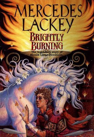 Brightly Burning (Daw Books Collectors, No. 1150) (Valdemar)