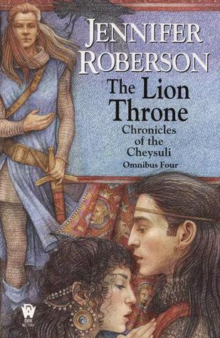 The Lion Throne by Jennifer Roberson