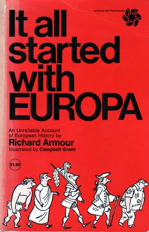 It All Started With Europa by Richard Armour