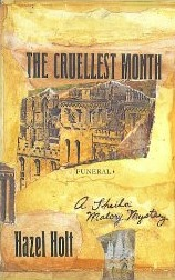 The Cruellest Month by Hazel Holt