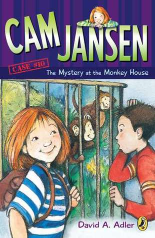 The Mystery at the Monkey House (Cam Jansen Mysteries, #10)