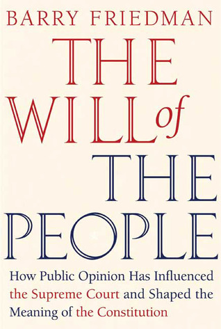 The Will of the People by Barry Friedman