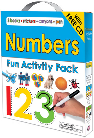 Numbers Fun Activity Pack-with CD