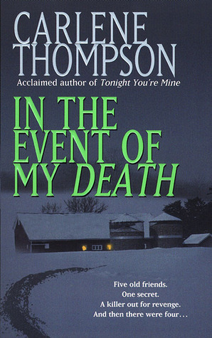 In the Event of My Death by Carlene Thompson