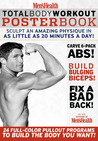 Men's Health Total Body Workout Poster Book