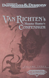 Van Richten's Monster Hunter's Compendium Volume Three (Advanced Dungeons & Dragons, 2nd Edition: Ravenloft, Campaign Accessory)