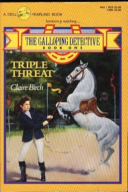 Triple Threat (The Galloping Detective #1)
