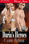 Daria's Heroes (Men Out of Uniform, #1)