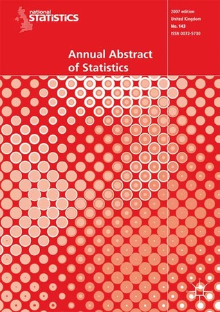 Annual Abstract of Statistics 2007