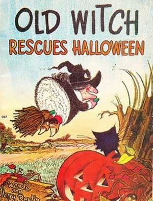 Old Witch Rescues Halloween!
