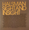 Halsman Sight and Insight