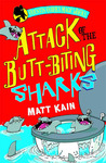 Attack of the Butt-biting Sharks: Quentin Quirk's Magic Works Book 1
