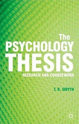 psychology undergraduate dissertations The thing is, there are many interesting topics out there that are just not practical to be investigated in an undergraduate dissertation we are limited by time.