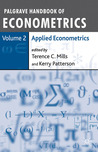 Palgrave Handbook of Econometrics: Volume 2: Applied Econometrics